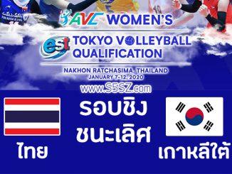 วอลเลย์บอลไทยเกาหลีใต้